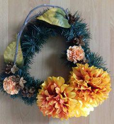 Jesenne srdce Floral Wreath, Wreaths, Fall, Home Decor, Autumn, Floral Crown, Decoration Home, Door Wreaths, Fall Season