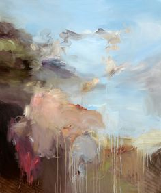 "Saatchi Art Artist Ryan Coleman; Painting, ""Untitled(Heaven/Earth) - Oil on canvas, 40""x48"", 2012"" #art"