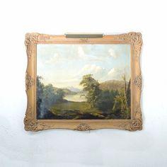 Circa 1880 Oil on Canvas Hudson River School