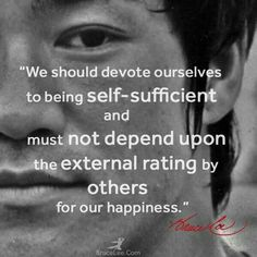 Happiness...Bruce Lee