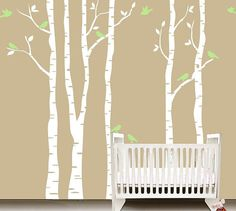 Tree wall Decal Wall Sticker Baby Nursery Decals  by ArtHomeDecal, $89.00