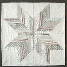 Icy Strips Lone Star Quilt