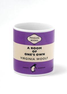 Penguin Mug: Room of One's Own (Purple)
