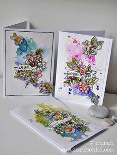 paper smooches trio | by zarischka