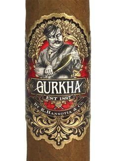 Gurkha 125th Anniversary cigar band