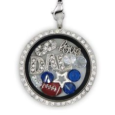 Awesome Tee Dallas Football Charm Necklace T shirts