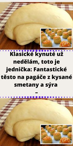 Slovak Recipes, Muffins, Ciabatta, Baking Recipes, A Table, Sweet Treats, Food And Drink, Pizza, Menu