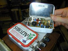 Amateur Radio Rocks - Facebook  QRP Transceiver built by K6ESE