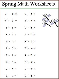 math worksheet : 1000 ideas about subtraction worksheets on pinterest  math  : Maths Level 1 Worksheets