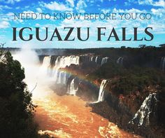 Argentina Travel Tips l Iguazu Falls: Everything You Need to Know Before You Go l @tbproject