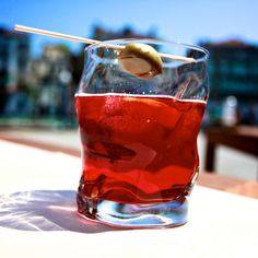 summer is a time for a negroni