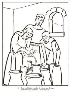 Desenhos Para Colorir E Pintar Biblicos Antigo Testamento