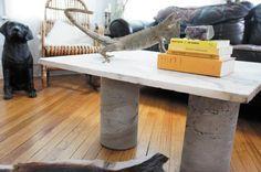 Libby Alexander's homemade $65 coffee table