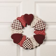 Heart Wreath - TerrysVillage.com