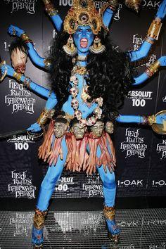 Heidi Klum as Kali Best Celebrity Halloween Costumes - Hollywood and  Fashion Halloween Costumes - ELLE My Favorite Heidi costume! 79eada8b33e38