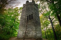 Patterson tower, witch's tower or Frankenstein's castle...whatever you call it...still creepy.  Dayton