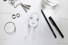 A personal illustration ..www.oraclefox.com #illustration #drawing #pencildrawing