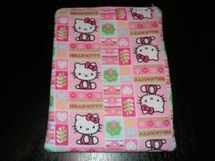 Hello Kitty handmade zipper fabric iPad 2 by alwaysamazingdesigns, $14.99