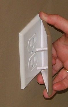 The COVERPLUG Is Easy To Install Or Remove By An Adult. Since It Is  Paintable · Electrical Outlet CoversElectrical ...