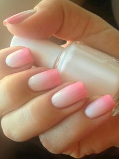 48 Mejores Imágenes De Uñas Difuminadas Gorgeous Nails Pink Ombre