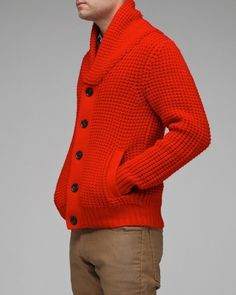 Men's Sweater-I WILL make one (repinned-source unknown)