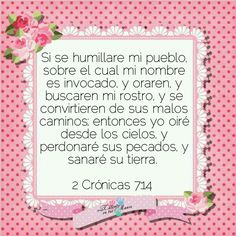 2 Crónicas 7:14