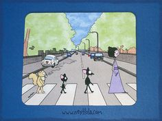 In the mood for beingThe Beatles mousepad by nextlola on Etsy, $15.50