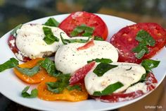 how to make a cheese platter look great | Caprese Salad. Can anything look or taste more like Summer? Can ...