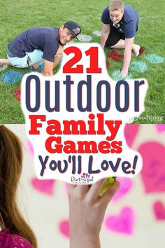 21 Creative Outdoor Games for Families and Friends · Pint-sized Treasures