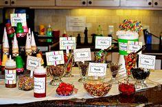 DIY Ice Cream Sundae Bar #diyicecream #sundaebar