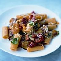 eten vandaag recept pasta peperonata