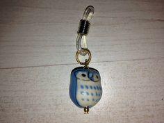 Owl knitting needle holder  Blue par KnittinginFrance sur Etsy, €5.00