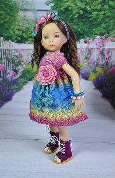 OOAK OUTFIT FOR DOLLS Little Darlings Effner 13