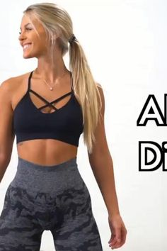 Ab Workout For Women At Home, Gym Workout For Beginners, Gym Workout Tips, Fitness Workout For Women, Workout Videos, Core Workouts, Slim Thick Workout, Slim Waist Workout, All Body Workout