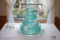 Mon premier gâteau de mariage -- 2013 /// My fisrt wedding cake -- 2013