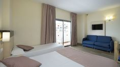 Marconfort Griego Hotel - Quintuple Room | Habitación quíntuple #Torremolinos #holidays