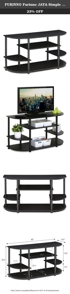 FURINNO Furinno JAYA Simple Design Corner TV Stand, 15116EX. Furinno JAYA Simple Design Corner TV Stand features (1) Unique Structure: Open display shelves provide easy storage and display of TV and other entertainment accessories. Suitable for any rooms. Designed to meet the demand of low cost but durable and efficient furniture. It is proven to be the most popular RTA furniture due to its functionality, price, and the no hassle assembly. (2) Smart Design: Easy Assembly and No tools...