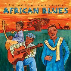 Imagen escogida por el manejo de colores, la composición y la técnica utilizadas para representar la temática africana