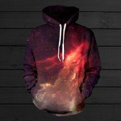 Red Nebula Hoodia IN  XXL