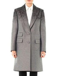 Degradé single-breasted coat | Alexander Wang | front