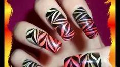 Nail Art Tutorial - YouTube