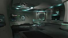 science fiction living quarters - Google Search