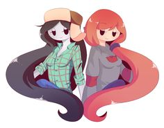 Marceline and Wendy (Gravity Falls)