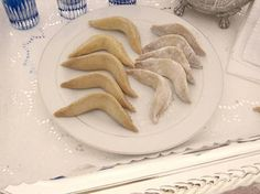 Moroccan Pastries/ Deer Hoof Cookies a memory of my mother in law who makes them at her best mash'Allah