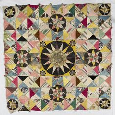 Eighteenth century patchwork fragment