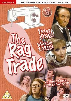 The Rag Trade - LWT Series 1 - Complete [DVD] DVD ~ Peter Jones, http://www.amazon.co.uk/dp/B00112GCF8/ref=cm_sw_r_pi_dp_OOxvtb11RFAMC