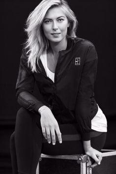 Maria Sharapova Nike shoot 2015