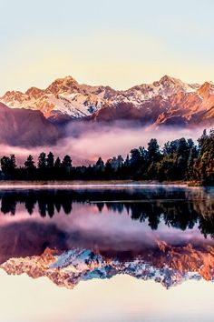 New Zealand | Lake Matheson
