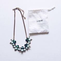 J. Crew Statement Necklace A few scratches but otherwise in great condition! Steal of a price! J. Crew Jewelry Necklaces