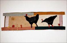 Janet Bolton textile art - love it!
